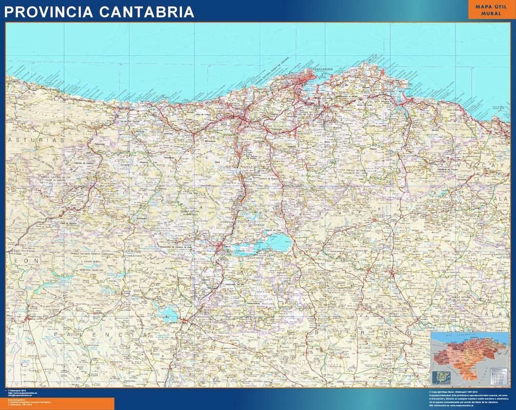 mapa grande provincia cantabria